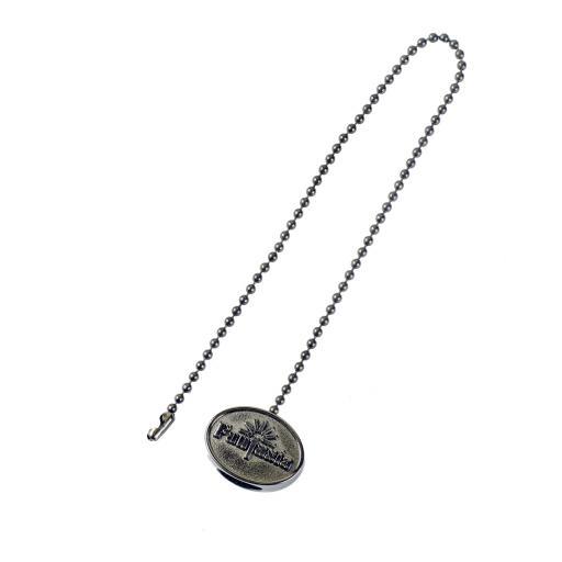 Fantasia Embossed Pull Chain Medallion